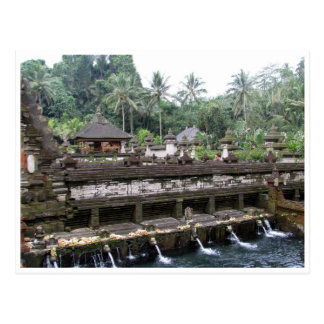 templo Bali del empul del tirta Tarjetas Postales