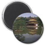 Templo budista de Kinkaku-ji Imán Para Frigorífico