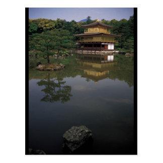 Templo budista de Kinkaku-ji Tarjeta Postal