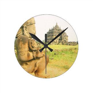 Templo budista de Pleosan, Prabanam, Java, Indones Relojes