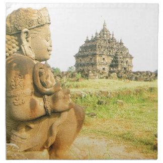 Templo budista de Pleosan, Prabanam, Java, Indones Servilletas De Papel