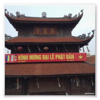 Templo budista Hanoi Vietnam Fotografía