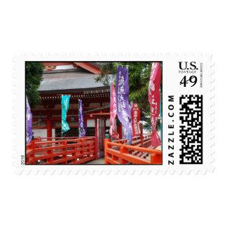 Templo budista sello