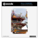 Templo chino iPhone 3GS calcomanía