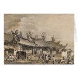Templo chino, Singapur Felicitaciones