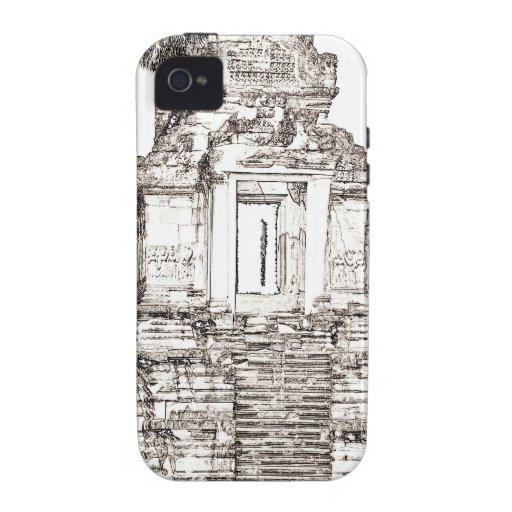 Templo de Angkor Case-Mate iPhone 4 Fundas