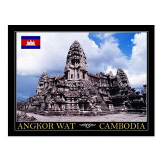 Templo de Angkor Wat, Camboya Tarjeta Postal