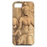 Templo de Angkor Wat de la escultura budista del iPhone 5 Carcasa