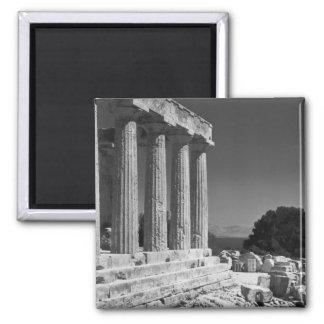 Templo de Aphaea Imanes Para Frigoríficos