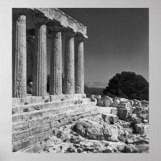 Templo de Aphaea Impresiones