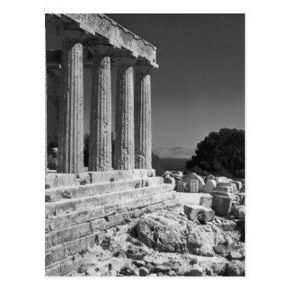 Templo de Aphaea Tarjetas Postales