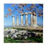 Templo de Apolo - Corinto Azulejo Cerámica
