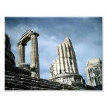 Templo de Apolo, Turquía Arte Fotográfico