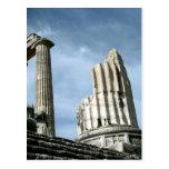 Templo de Apolo, Turquía Tarjeta Postal