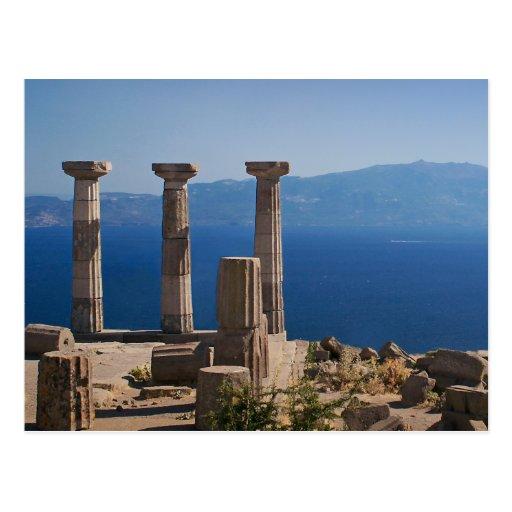 Templo de Athena/ASSOS - Turquía Postal