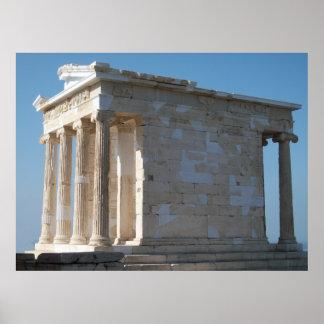 Templo de Athena Nike_01 Poster