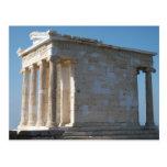 Templo de Athena Nike Tarjetas Postales