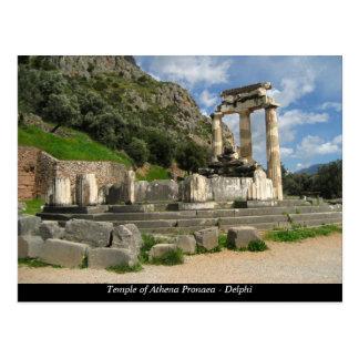 Templo de Athena Pronaea - Delphi Postal