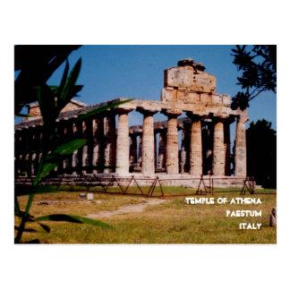 Templo de Athena Tarjetas Postales