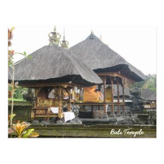 Templo de Bali Postales