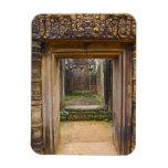 Templo de Banteay Srei, Angkor, provincia de Siem  Imanes Rectangulares