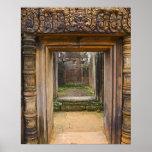 Templo de Banteay Srei, Angkor, provincia de Siem  Impresiones