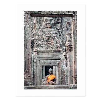 Templo de Bayon, Angkor Thom, Camboya Tarjeta Postal