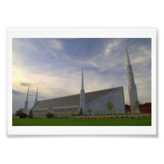 Templo de Boise, Idaho LDS Fotografía