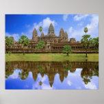 Templo de Camboya, Campuchea, Angkor Wat Póster