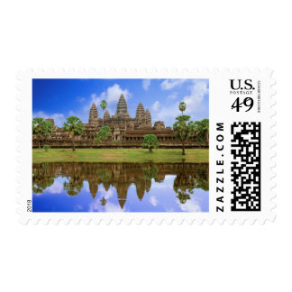 Templo de Camboya, Campuchea, Angkor Wat Timbres Postales