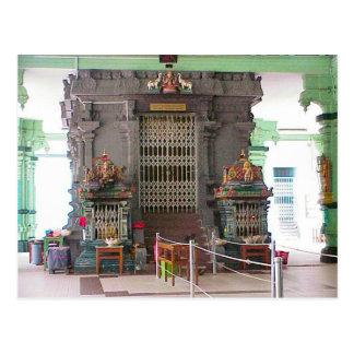 Templo de Chettiar, interior Postal