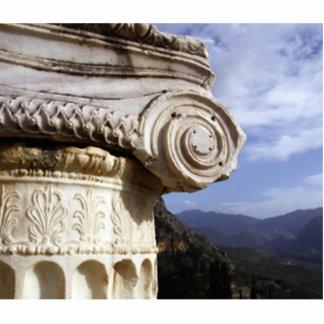 Templo de Delphi Esculturas Fotográficas