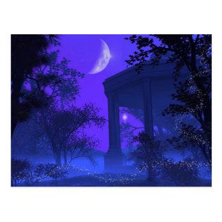 Templo de Diana en el claro de luna Postal