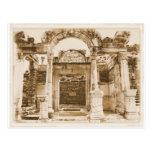 Templo de Hadrian en FOTOGRAFÍA del VINTAGE de Eph Postal