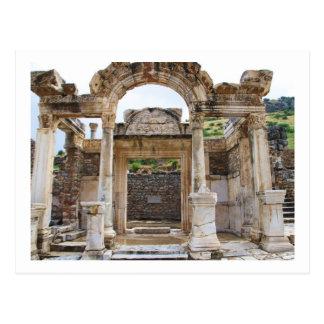 Templo de Hadrian, Ephesus Tarjetas Postales