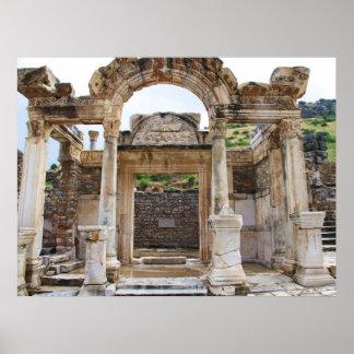 Templo de Hadrian, POSTER de Ephesus