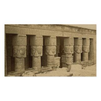 Templo de Hathor, Egipto circa 1867 Tarjetas De Visita