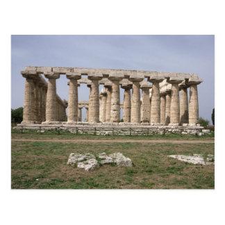 Templo de Hera I Tarjeta Postal