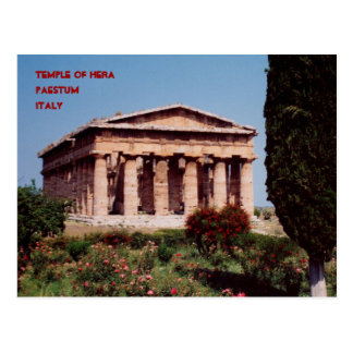 Templo de Hera Tarjetas Postales