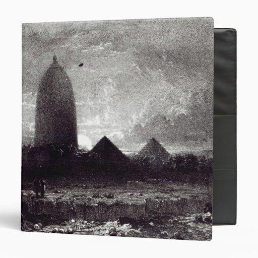Templo de Jagannath, grabado por A. Picken, 1837