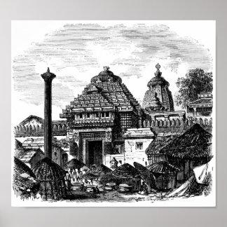 Templo de Jagannath Posters