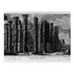 Templo de Juan Piranesi- de Cybele Postal