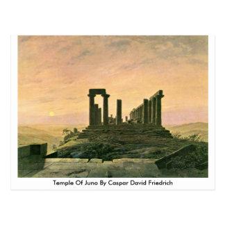 Templo de Juno de Caspar David Friedrich Postales