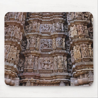 Templo de Khajuraho, la India Tapete De Ratones