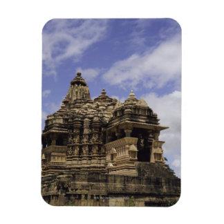 Templo de Khajuraho, Madhya Pradesh, la India Imanes