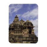 Templo de Khajuraho, Madhya Pradesh, la India Imanes Rectangulares