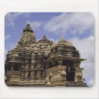 Templo de Khajuraho, Madhya Pradesh, la India Tapete De Ratones