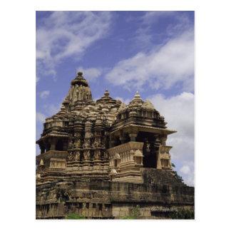 Templo de Khajuraho, Madhya Pradesh, la India Tarjetas Postales