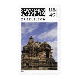 Templo de Khajuraho, Madhya Pradesh, la India Timbre Postal