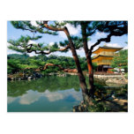 Templo de Kinkaku-ji, Kyoto, Japón Postales